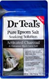 Dr Teal's Soaking Solution Activated Charcoal & Black Lava Salt, 3 Lbs