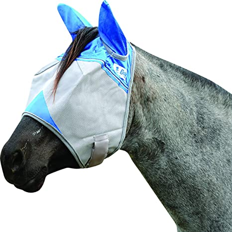CASHEL STANDARD FLY MASK for Weanling HORSE Pony WITH COVERS EARS sun protection