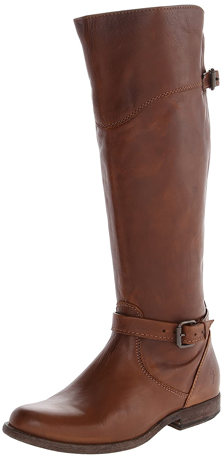 Deluxe Adult Costumes - FRYE Women's Phillip Cognac Leather Riding Boot