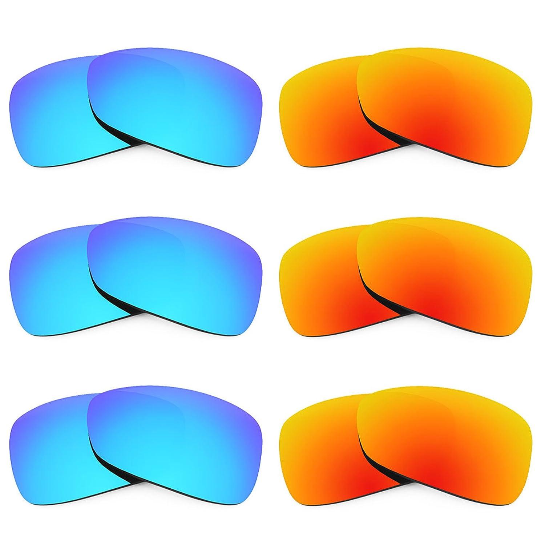 Oakley Montefrio 用Revant交換レンズ 偏光6 ペアコンボパック K029   B01CGXVXOU
