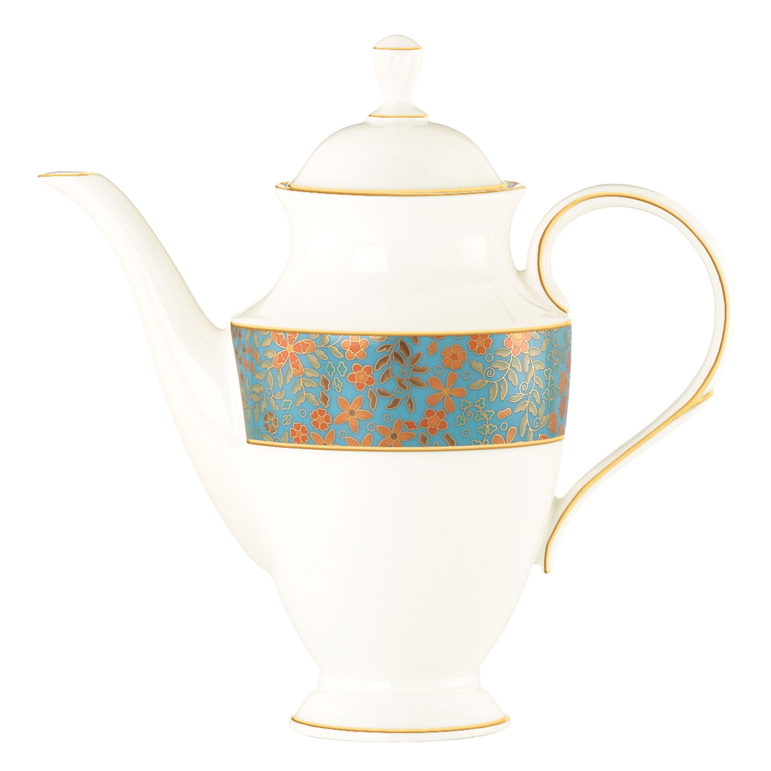 Lenox Gilded Tapestry Coffeepot with Lid