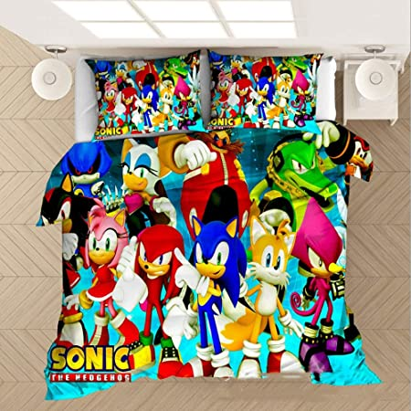 SONIC THE HEDGEHOG HEROES Pillow Case