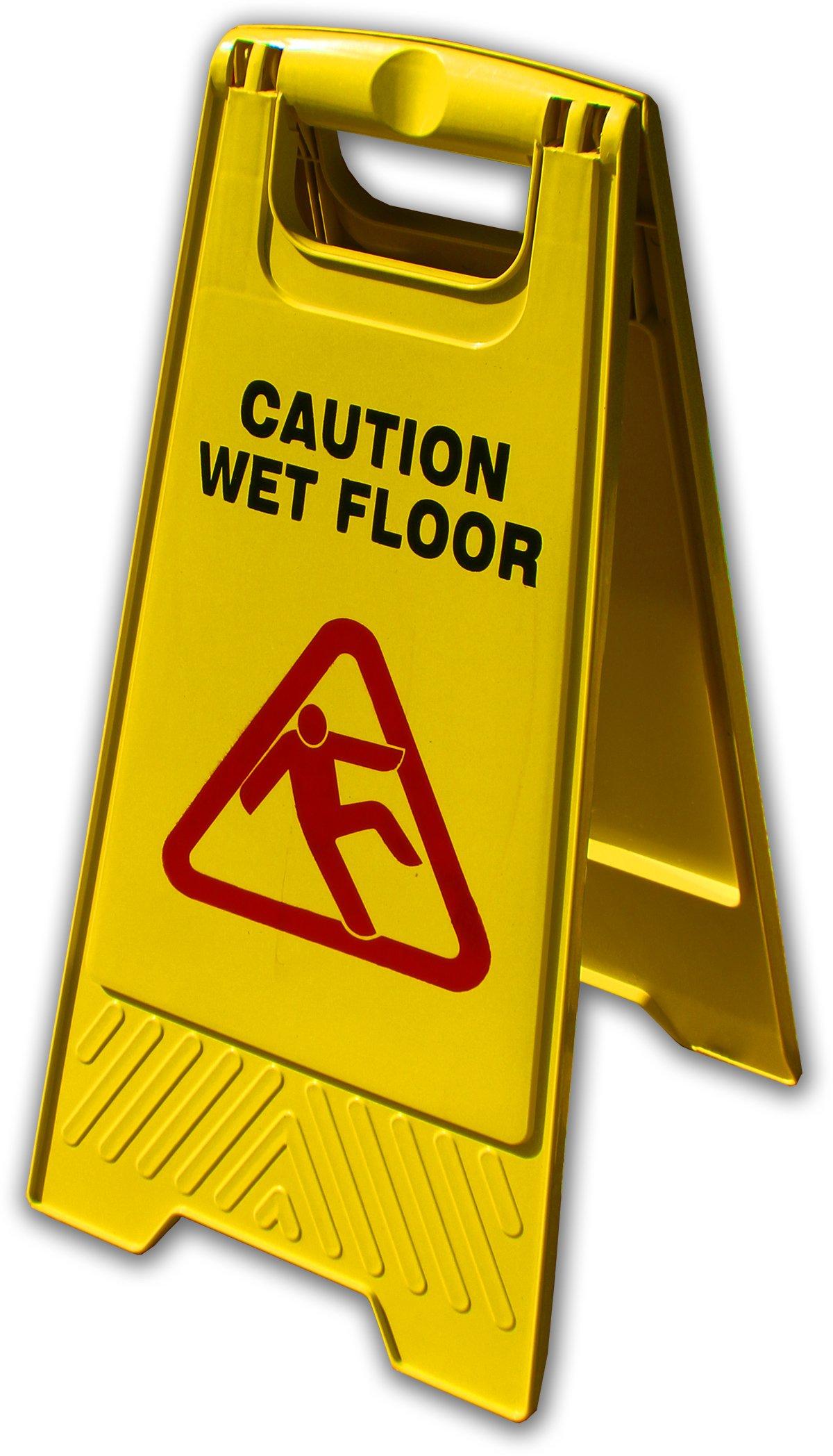 Wet Floor Sign | 10-Pack