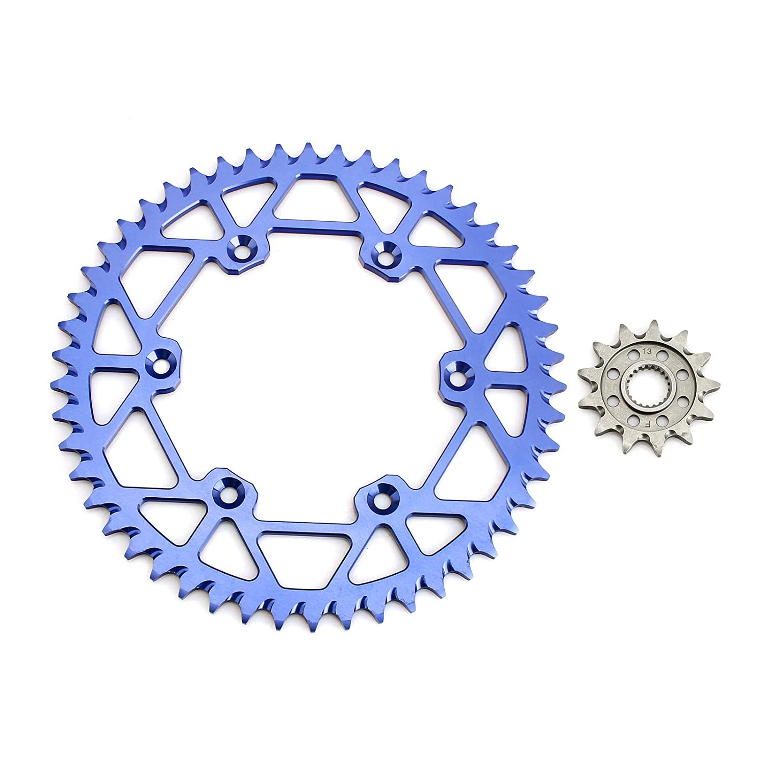 Smad 520-Pitch 120-Links Chain /& 13 Front//50 Rear Tooth Sprockets Kit for YAMAHA YZ125 05-19 WR250F 01-19 YZ250F 01-19 YZ250FX 15-18