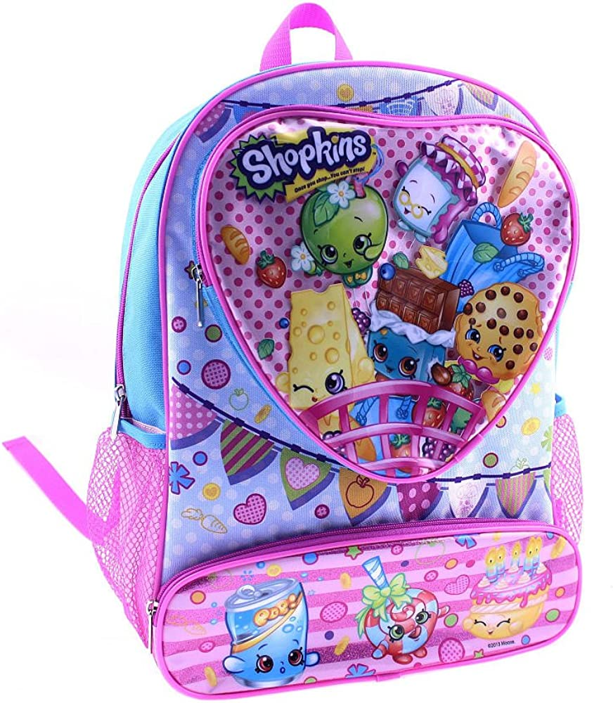 Shopkins Hearts 14-inch Backpack
