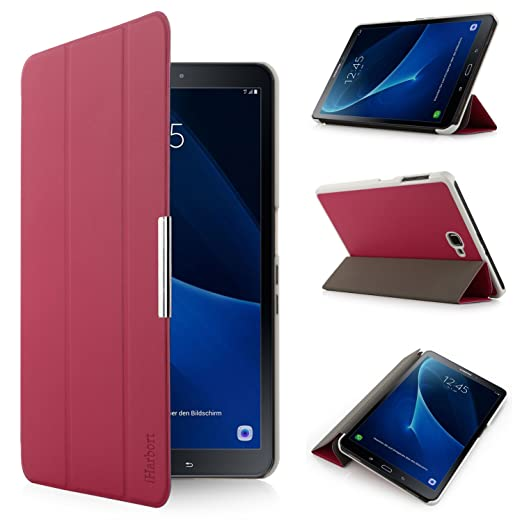 313 opinioni per iHarbort® Samsung Galaxy Tab A 10.1 custodia in pelle, ultra sottile di peso