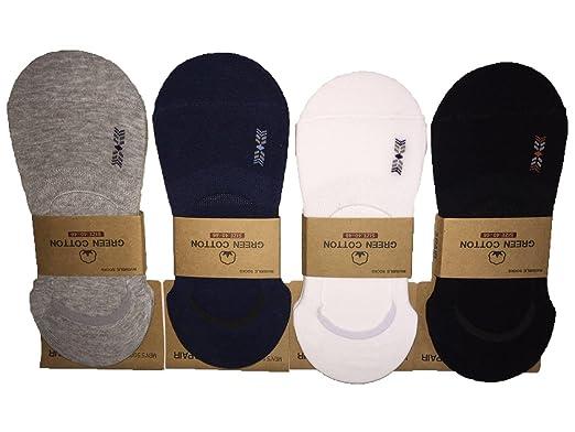 HIB Calcetines Pack 12 Pares Calcetines Cortos Hombre Calcetines Invisibles Para Verano (Multicolor -B