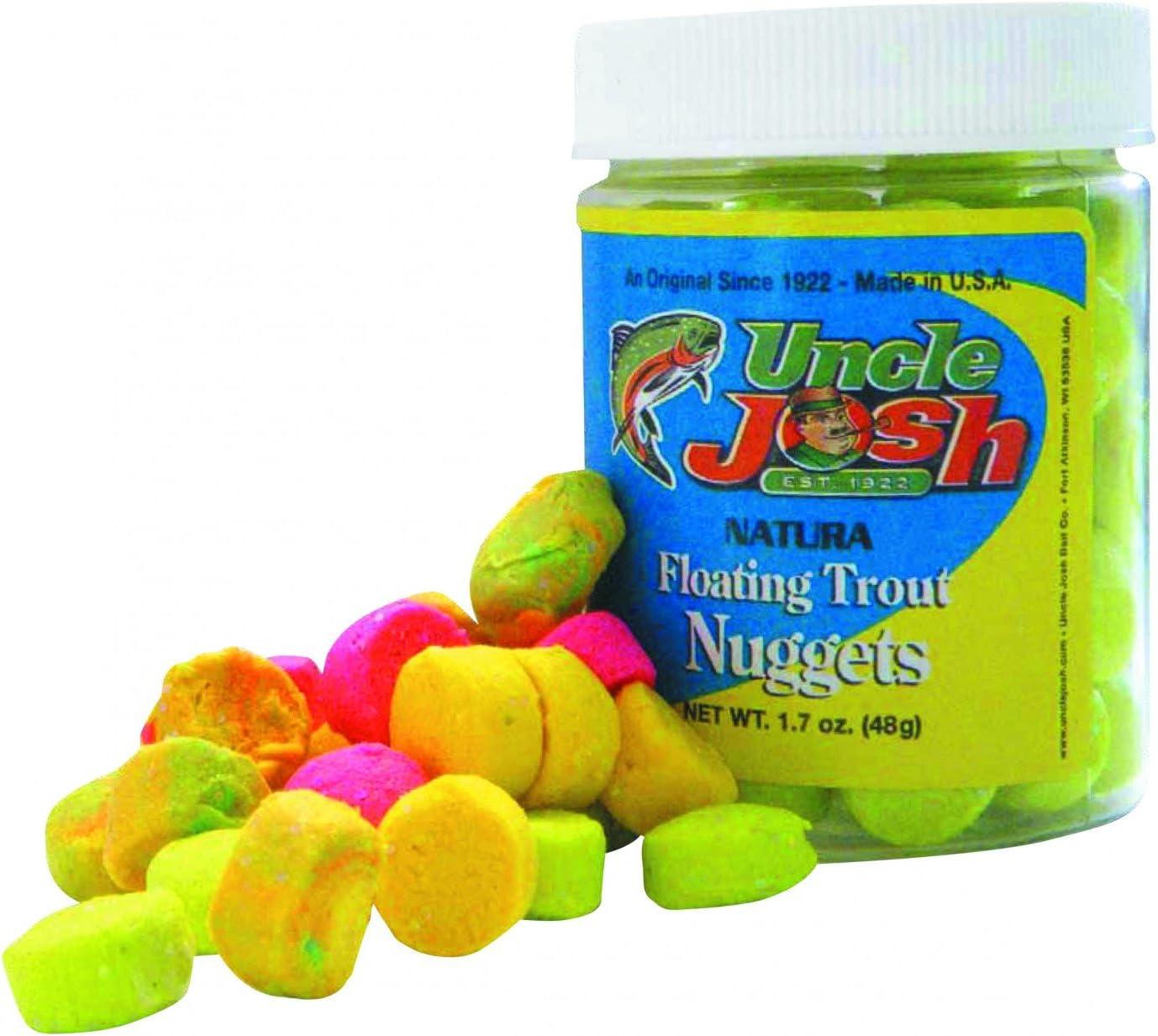 Uncle Josh Trout Nuggets 48g Forellenköder Regenbogen Glitter