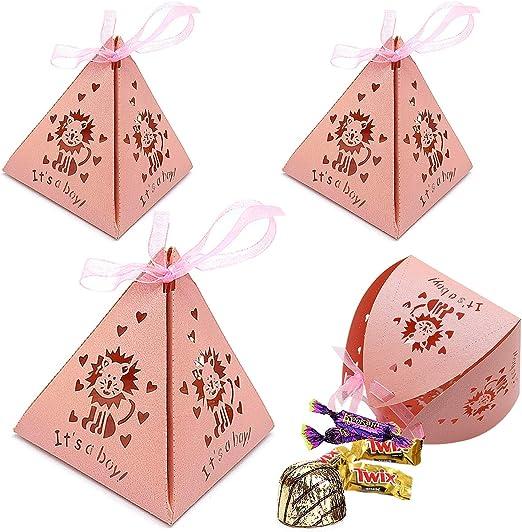 30 Pieces Caja de dulces, Cajas papel para boda favorece dulces ...