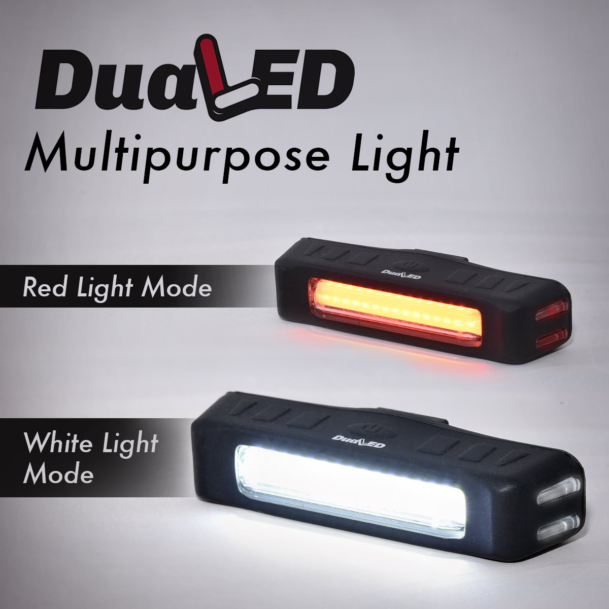 Usb Rechargeable Bike Light Red Or White Led Glow Jumbo Flashing Lights Flash 5 Modes All In One Torch Flashlight Super Bright Taillight Headlight For Cycling