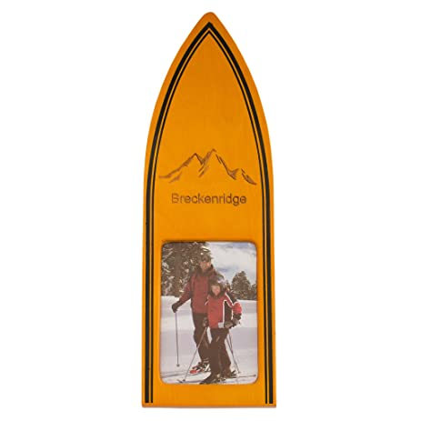 Amazon.com - Ski Theme Desktop Photo Frame Breckenridge -