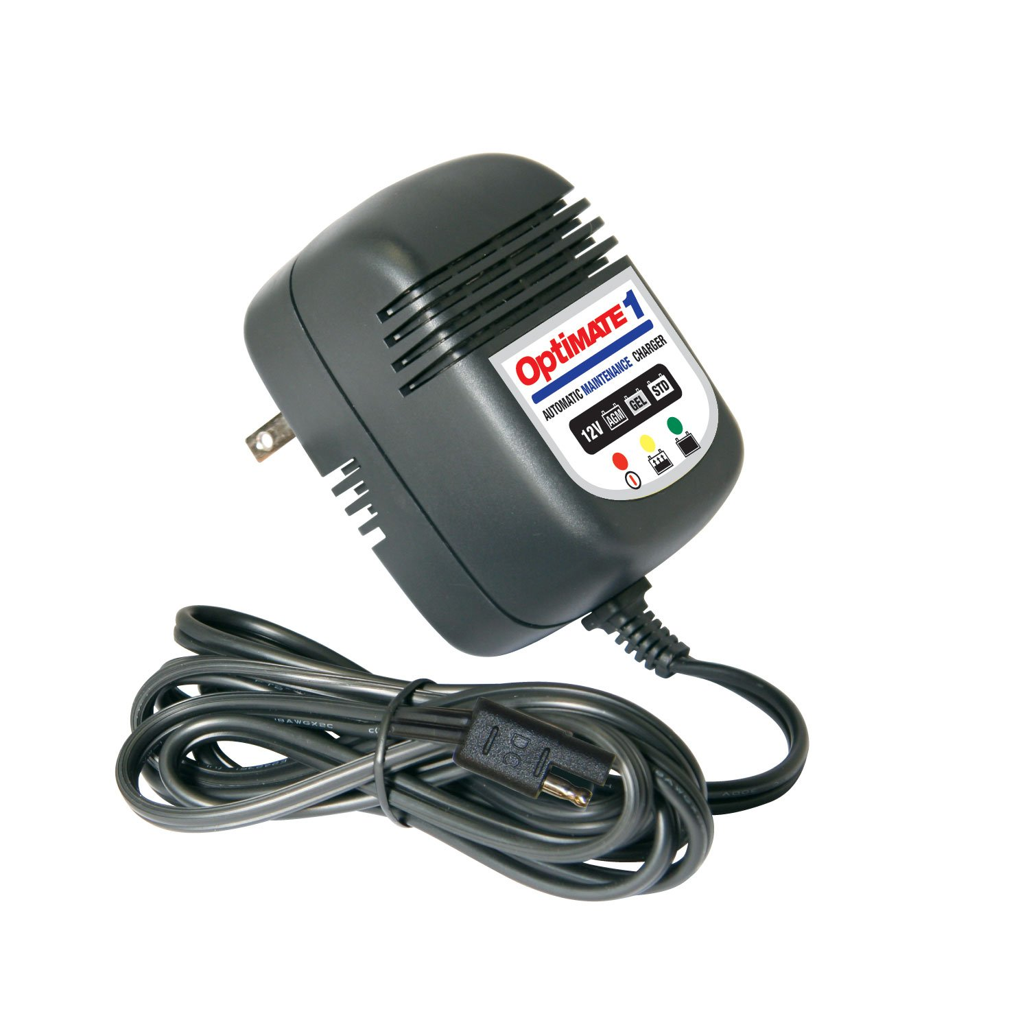 3-Step 12V 0.9A Battery Charger-maintainer Optimate 1 STD TM-85
