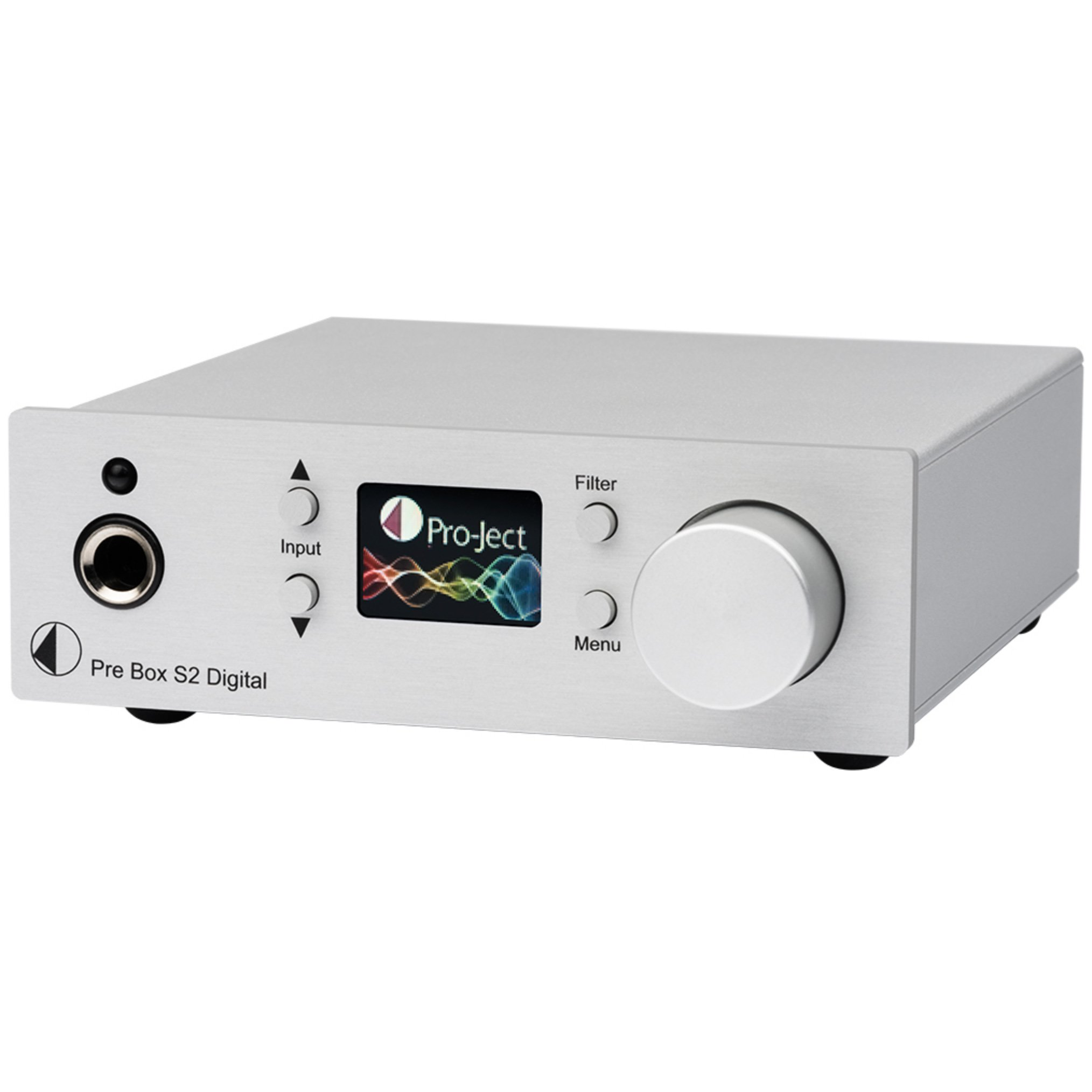 Pro-Ject Pre Box S2 Digital - Silver by Pro-Ject