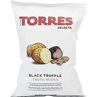 Torres Selecta Black Truffle Potato Chips, 125g