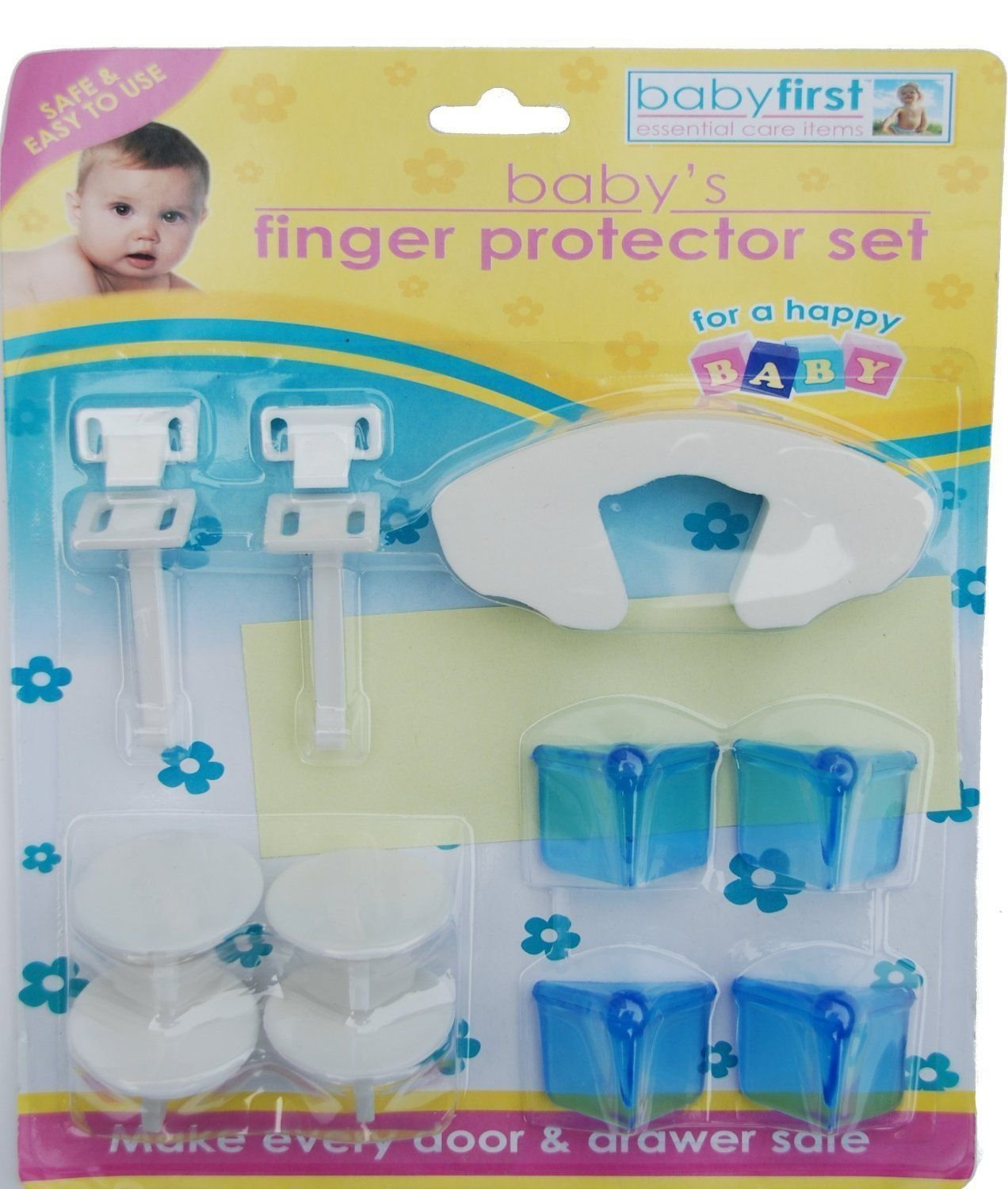 11 Pcs Baby Finger Protector Set Kids Safety Plug Socket Furniture Corner Covers by Lizzy® Baby First