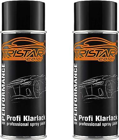 2 X Professional Clear Varnish Matt 400ml Car Paint Aerosol Spray Can Auto