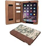 iPad Air (iPad 5) Case, Snugg™ - Executive Smart Cover With Card Slots & Lifetime Guarantee (Digital Camo Leather) for Apple iPad Air (2013)