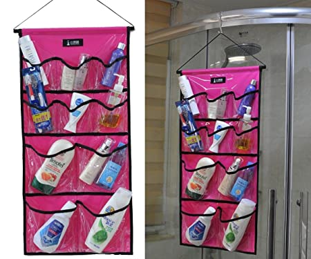 Bathroom Shower Caddy Toiletry Hanging Organizer Waterproof Closet ...