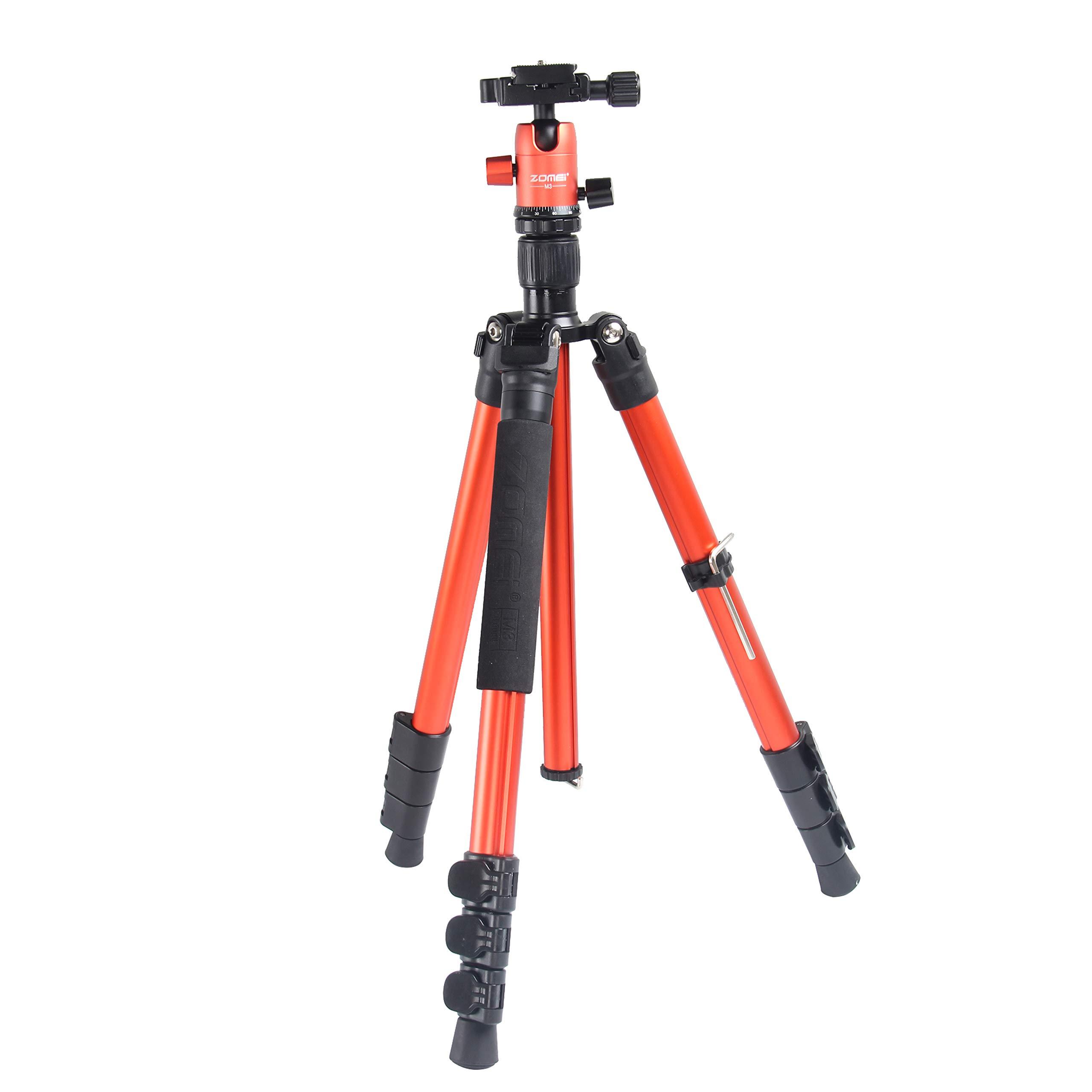 Zomei M3 Travel Camera Aluminum Tripod Lightweight Professional with 360 Degree Ball Head,1/4\