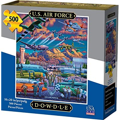 Dowdle Jigsaw Puzzle - U.S. Air Force - 500 Piece: Toys & Games