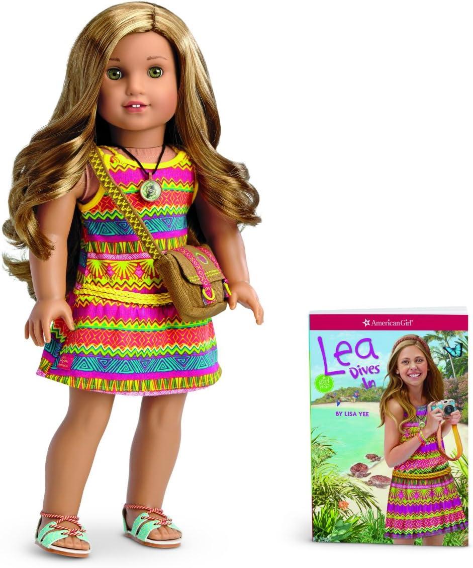 American Girl Lea Clark Doll /& Book 2017  Mini Doll Collection