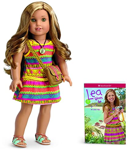 amazon com american girl lea clark lea doll and book american