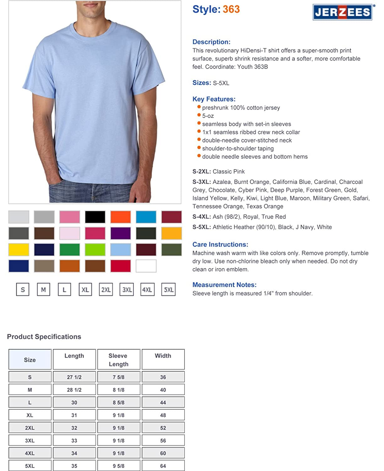 Jerzees 5 oz hidensi t t shirt 363 amazon nvjuhfo Image collections