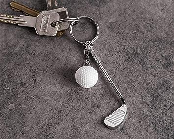KOSxBO® - Llavero de Golf con Palo de Golf y Pelota de Golf ...