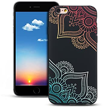 coque silicone iphone 6 mandala