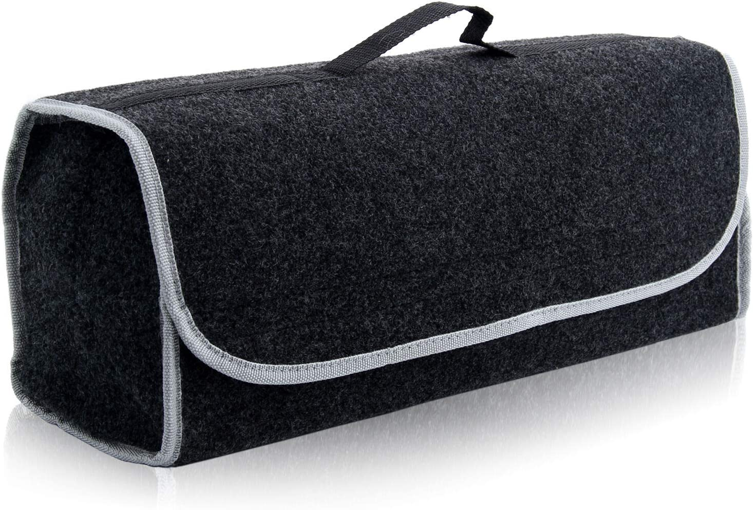 BALLSHOP Car Storage Bag Car Trunk Storage Bag Felt Cloth Folded Bag Organiser Tools