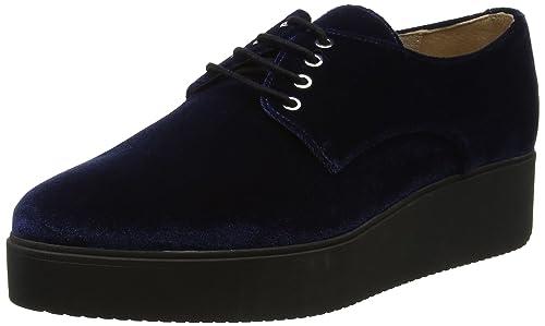 Unisa Caler_F17_VL, Zapatos de Cordones Mujer: Amazon.es: Zapatos y complementos