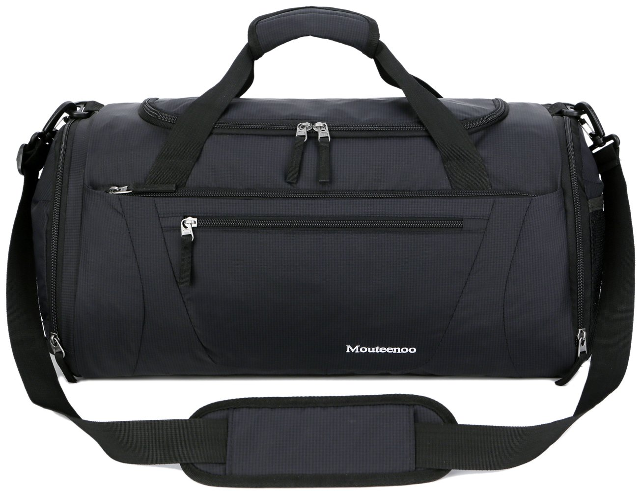 fd810dabd74 Mouteenoo Gym Bag 40L Sports Travel Duffel Bag for Men and Women with Shoes  Compartment