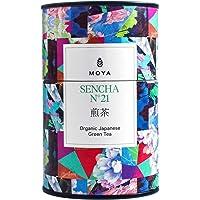 Moya biologische Japanse Sencha groene bladthee n°21   60g   De beste kwaliteit thee uit Japan   Geschikt voor…