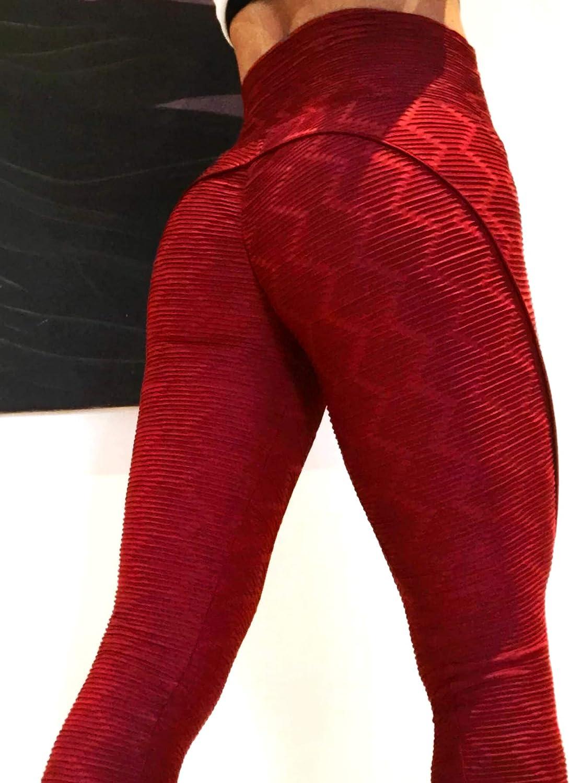 YOFIT Women Ruched Butt Lift Yoga Pants Leggings High Waist Tummy Control Tights