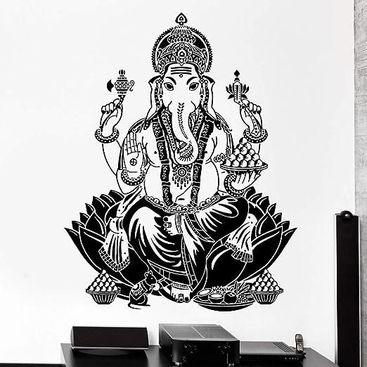 guijiumai Etiqueta de la Pared Elefante Ganesh Budismo ...