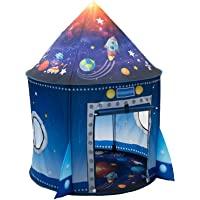 WillingHeart Rocket Ship Play Tent for Kids, Astronaut Spaceship Space Themed Pretend Playhouse Indoor Outdoor Games…