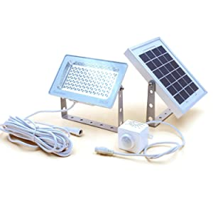 GUARDIAN 580X Solar Security Floodlight with Standalone PIR Motion Sensor and Lithium Battery, 730 Lumen Full Brightness, 3 Lighting Modes, as Flood Light and Wide Angle Spotlight