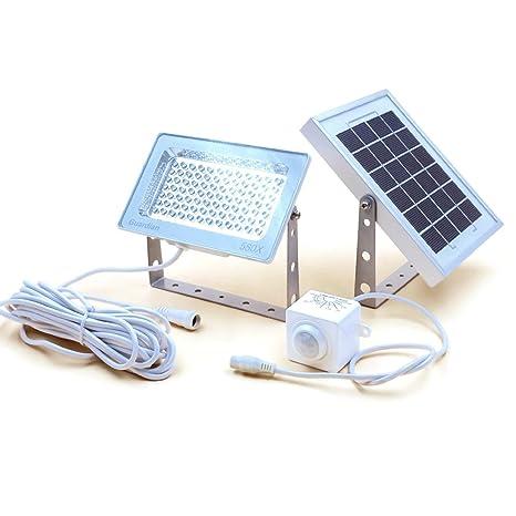 Reflector Solar GUARDIAN 580X de Vigilancia con Sensor Automático de Movimiento PIR y Batería de Litio