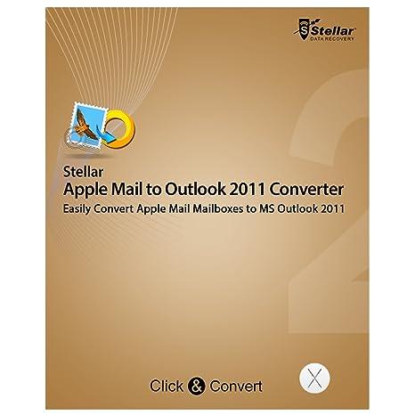 Amazon com: Stellar Apple Mail to Outlook 2011 Converter