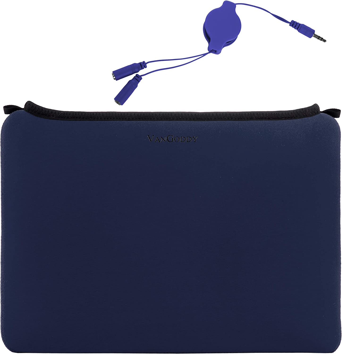 13.3 Inch Laptop Sleeve for Toshiba Portege A30 D1300ED, X30 D1352, X30 D1354, X30 D1356, X30 E1320, X30 E1322, X30 E1324, X30 E1326, X30 E1346, X30T E3142, X30T E3144 with Headphone Splitter Cable