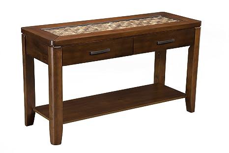 Alpine Furniture Mesa de sofá Granada: Amazon.es: Juguetes y ...