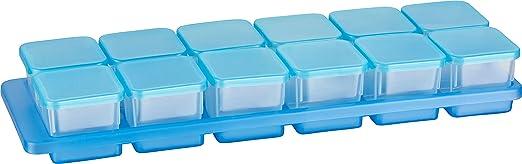 2 opinioni per Kigima Mini-contenitori congelatore 0,03l rettangolare 3,5x3,5x3,3 cm set di 12