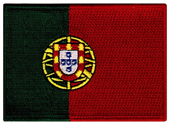 Amazon Portugal Flag Embroidered Patch Portuguese Iron On