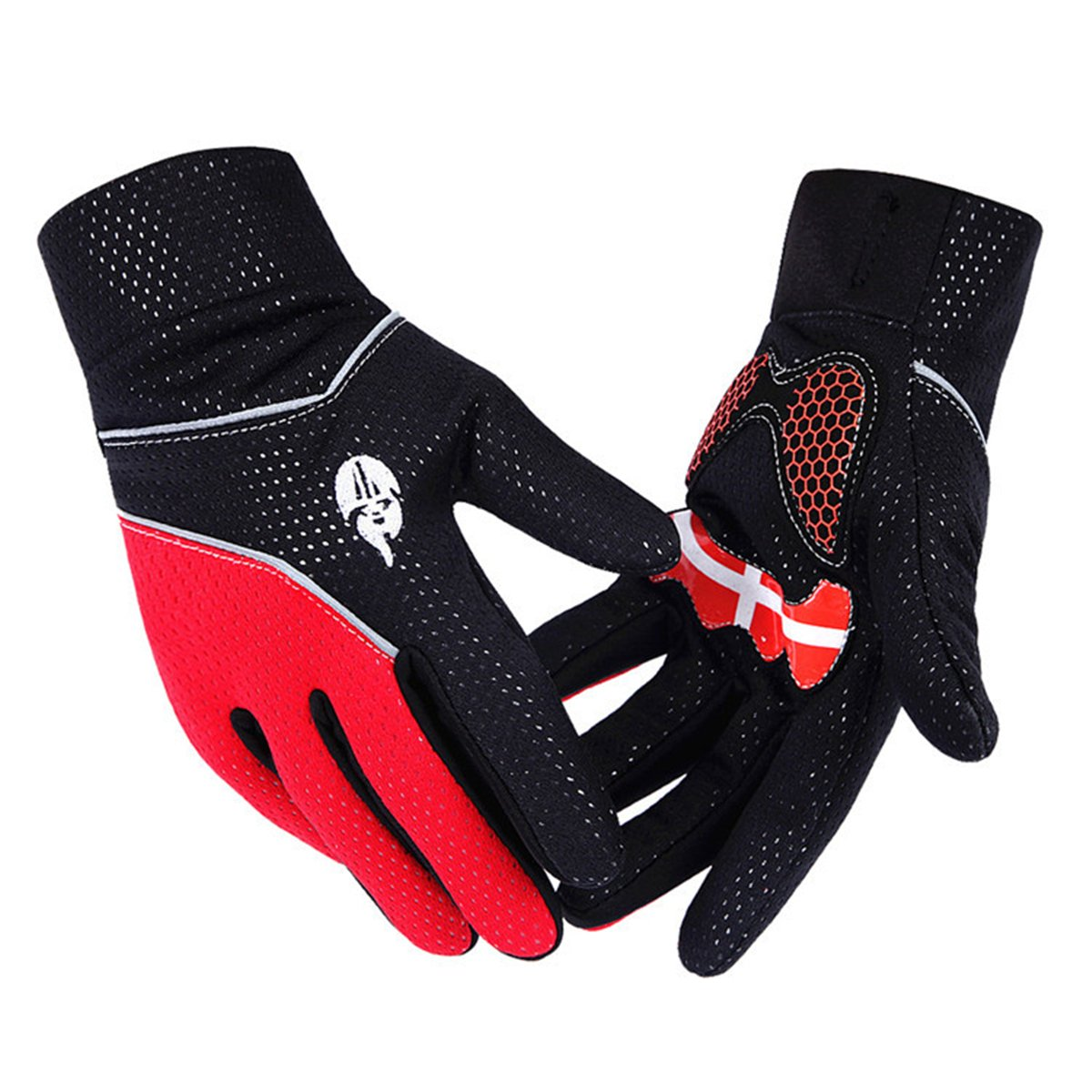 ApparelSales Mens Outdoor Windproof Long Finger Cycling Bike Bicycle Gloves Lindaeshop