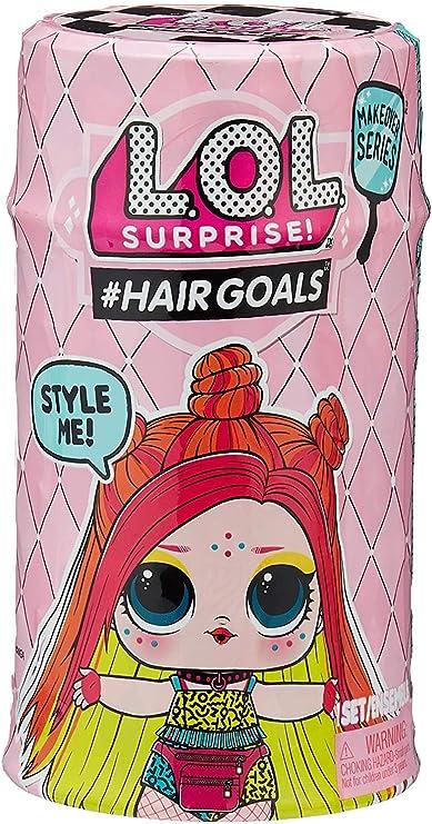 Amazon.com: Hairgoals Surprise Makeover Series 2 with 15 Surprises: Toys & Games