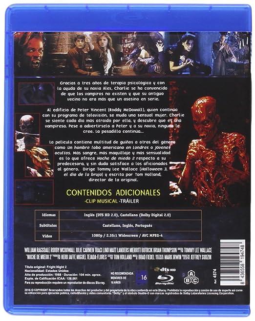Amazon.com: Noche de Miedo 2 1988 Fright Night Part II [Non ...