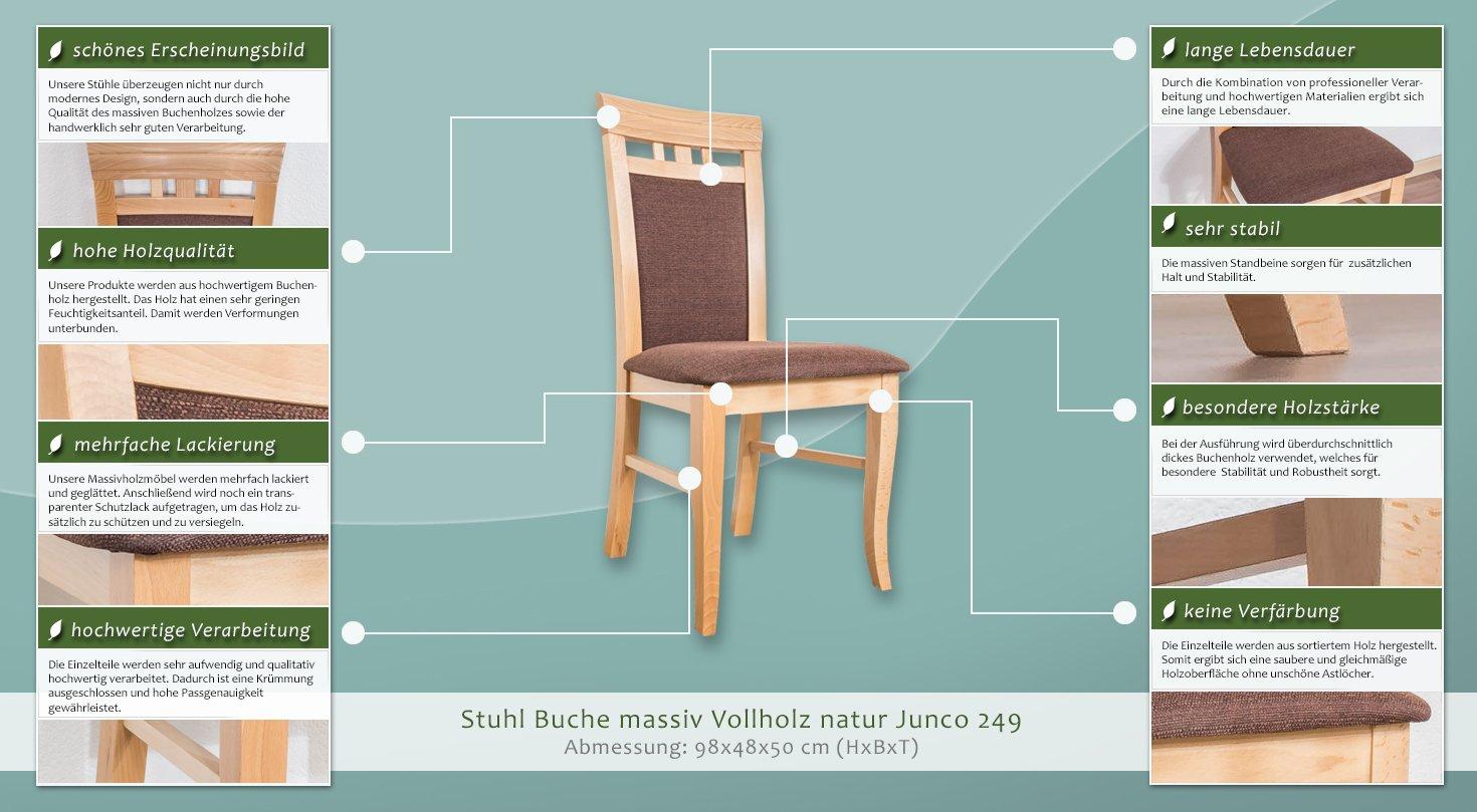 Stuhl Buche Massiv. Perfect Zuiver Tryck Chair Erset Stuhl Buche ...