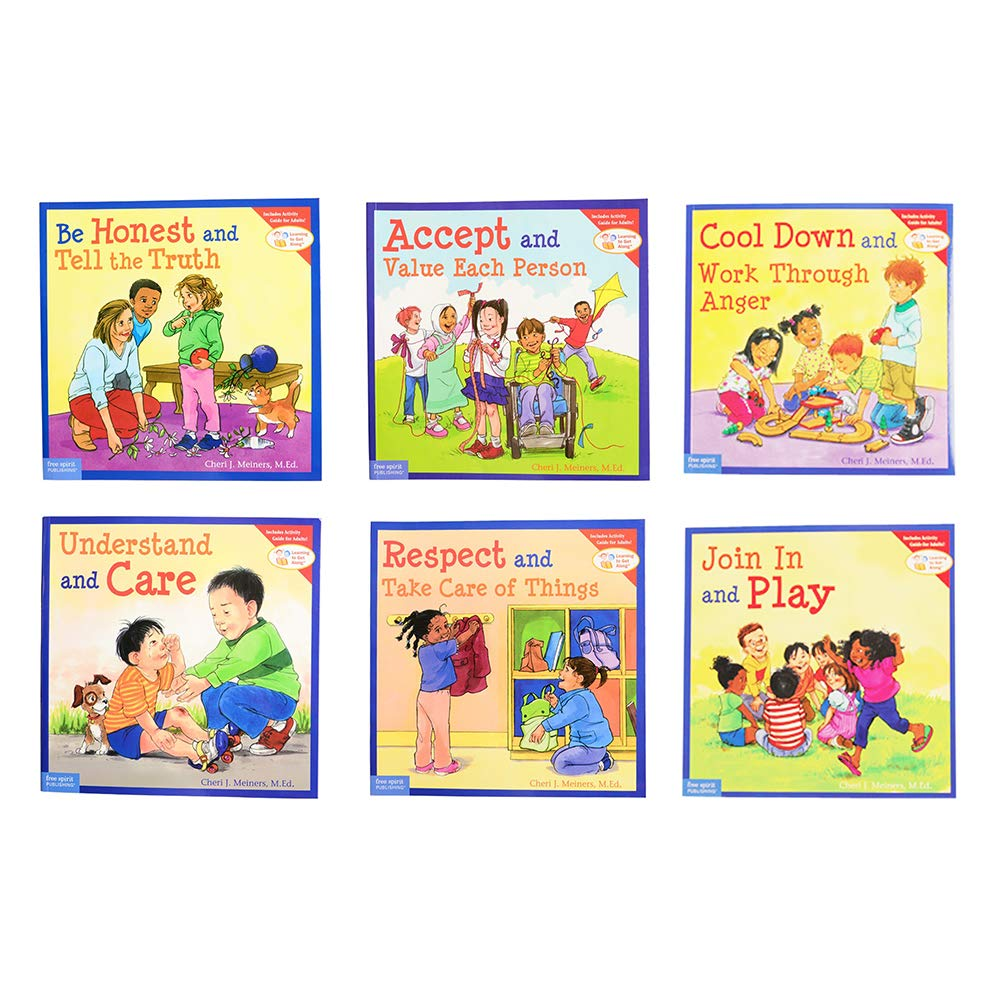 Learning to Get Along Resource Library Set of 12 Soft Cover Books by Constructive Playthings