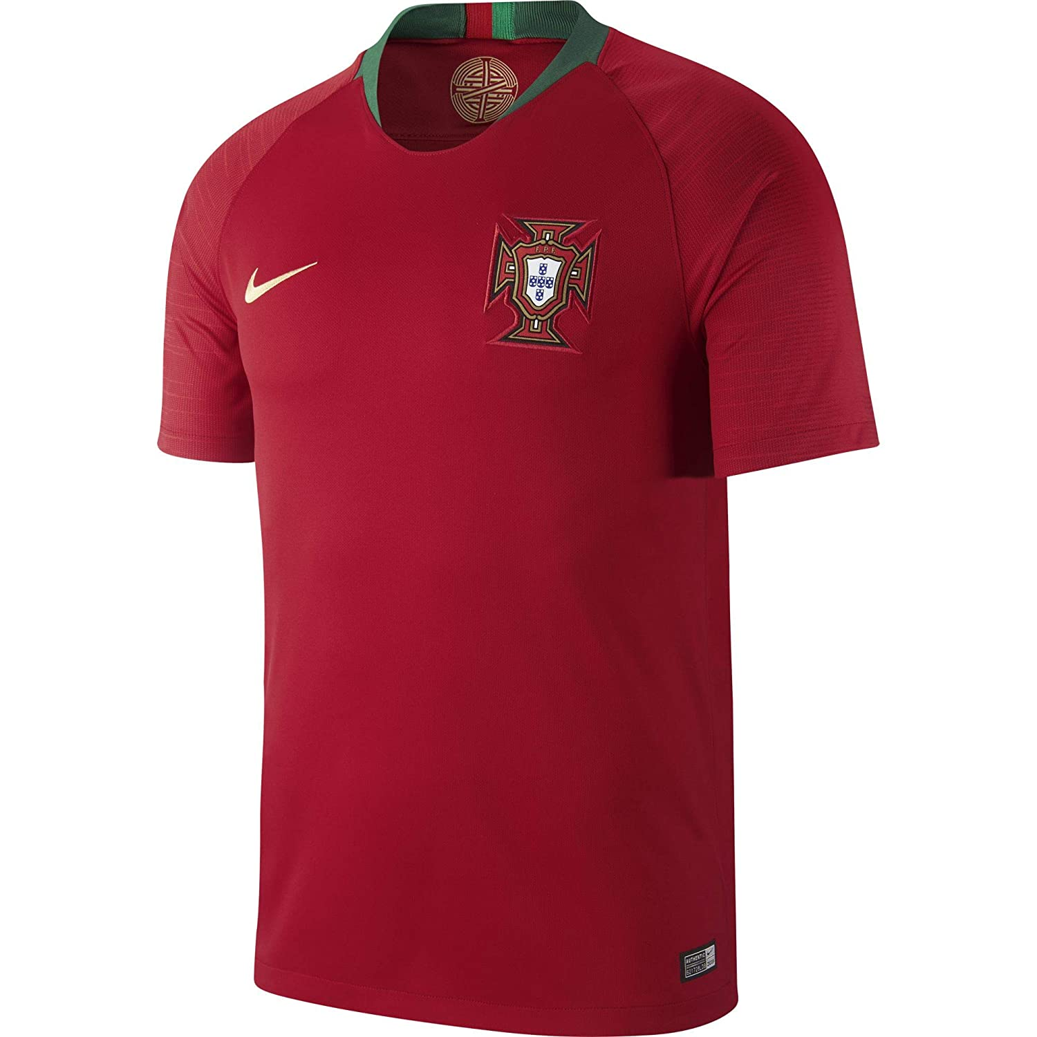 Amazon.com  NIKE Men s Soccer 2018 Portugal Stadium Home Jersey  Shoes eb9d042d8