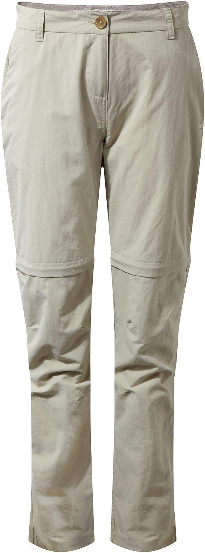 Craghoppers NL Conv TRS Pantalon Femme Moss Douce